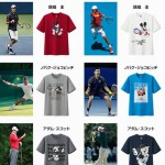 【ユニクロ】テニス錦織を含むアスリートテーマのUT 6月22日販売開始!【Mickey Plays】