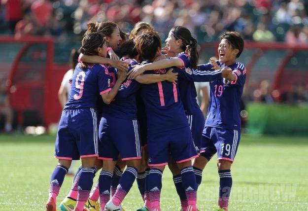 サッカー女子w杯 なでしこジャパンの決勝戦のテレビ放送と試合予定