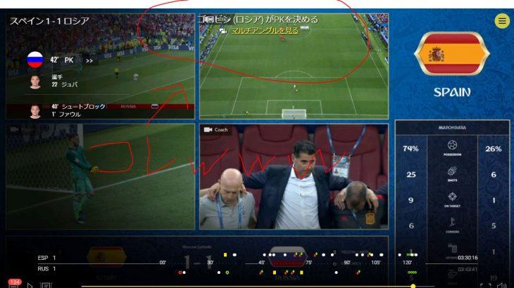 FIFAワールドカップのライブ配信・見逃し配信は無料で利用可能なコレがオススメ!~NHKスポーツオンライン~良い点・悪い点など