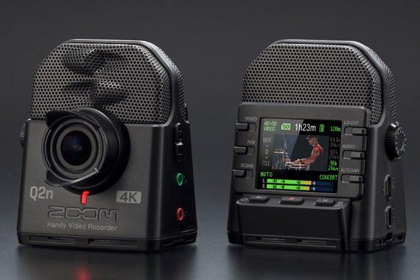 """【撮影動画有】最新ビデオカメラ""""ZOOM Q2N-4K""""を購入!早速試し撮りしてみた結果・・・"""