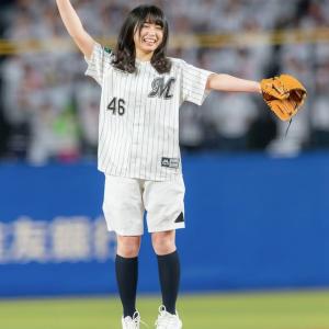 【ノーバン始球式】欅坂46 長濱ねる、ノーバンなるか・・・!?